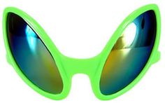 Perfect for Halloween! NEW! ALIEN EYES Sunglasses Cosmic COSTUME! ALIEN Roswell Area 51 Be a Spaceman! | eBay