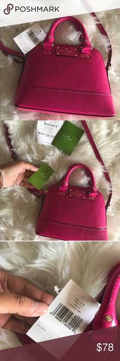 Kate Spade bag New with tags Kate spade rachelle bag. Comes with care card as well as the receipt. It was a gift that I never used. Perfect to give as a gift since it is brand new. kate spade Bags Crossbody Bags