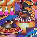 Fiji Memories Painting by Maria Rova