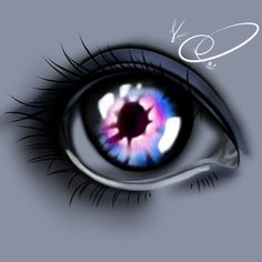 Glowing eye! Concept by https://pl.pinterest.com/pin/685321268267275250/