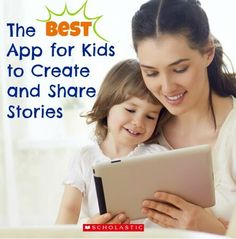 Your kids can easily create their own book with this app.