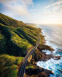 Dream road along the gold coast of Hawaii   Oahu Hawaii  @vincelimphoto  #travel #blogger #beautifuldestinations #vacation #inspiration #traveltheworld #tourist #ideas #travelideas #bestplace #bestview  #wonderful_places  #worldwonder #oahu #oahuhawaii #oahulife #oahuvacay #hawaii Voyage Hawaii, Travel Around The World, Around The Worlds, Travel Movies, Time Travel, Travel List, Budget Travel, Hawaii Travel, Oahu Hawaii