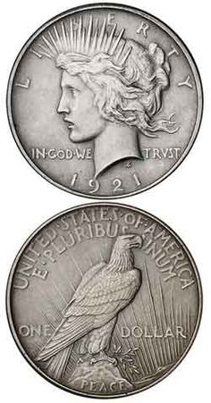 Peace Dollar Key Date Coins