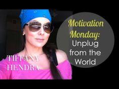 MOTIVATION MONDAY: Importance of Unplugging with Tiffany Hendra #Vlog #motivation #powerofnow #bepresent #metime #refuel #conversation #etiquette