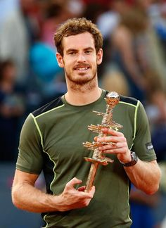Can Madrid Open Winner Andy Murray Take Home Wimbledon In 2015? Andy Murray  #AndyMurray