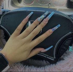 Bling Acrylic Nails, Drip Nails, Best Acrylic Nails, Summer Acrylic Nails, Coffin Nails, Perfect Nails, Gorgeous Nails, Pretty Nails, Acylic Nails