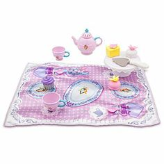Disney Sofia the First Tea Time Play Set | Disney StoreSofia the First Tea Time Play Set - Sofia may be the First, but you'll never be the last invited to her many playtime tea parties to be held with this 14-piece place setting for two!