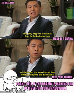 So Accurate! This was one of my favorite scenes. DRAMA CLUB: You Are All Surrounded Episodes You're All Surrounded, Playful Kiss, Drama Funny, Korean Shows, Kdrama Memes, Boys Over Flowers, Kdrama Actors, Hopeless Romantic, Best Shows Ever