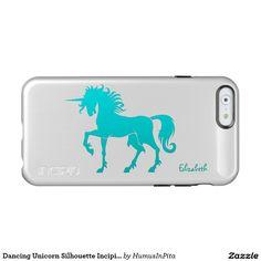 Dancing Unicorn Silhouette Incipio Case Incipio Feather® Shine iPhone 6 Case