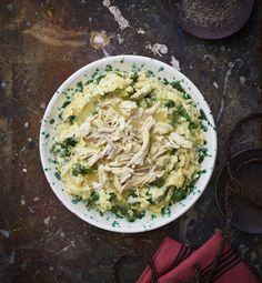 Kanaviillokki on Meri-Tuuli Väntsin lapsuuden suosikkiruokia, joten sen reseptiä ei sovi liiaksi modernisoida. Mutta lisukeriisi saa mennä: nyt vii... Risotto, Cabbage, Spaghetti, Curry, Vegetables, Ethnic Recipes, Food, Style, Swag