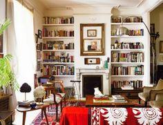 bookshelves - integrated for front house living room??