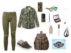 """""""Untitled #1348"""" by nestor-ana ❤ liked on Polyvore featuring L.L.Bean, Current/Elliott, Ash, Italia Independent, Casetify, Lanvin, NARS Cosmetics, MAC Cosmetics, Urban Decay and Omorovicza"""