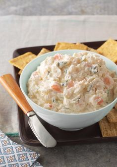 Zesty Shrimp Spread- Soft and with a grand taste, this savory shrimp spread can be prepared in 10 minutes and is perfect for serving it like an appetizer when you have guests.