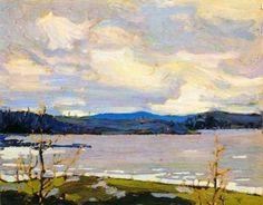 Cold Spring Algonquin Park - Tom Thomson , 1917