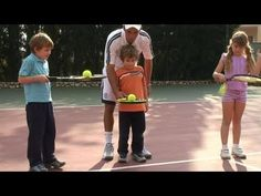 This guide is a practical time-saver that will enable you to get good at tennis. Watch our tutorial on How To Learn A Tennis Technique from one of Videojug's. Tennis Games, Tennis Clubs, Tennis Players, Kindergarten Learning, Learning Activities, Teaching, Tennis Techniques, Indoor Tennis, Tennis