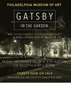 Gatsby in the Garden