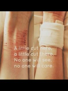 Don't cut yourself... After te first is almost impossible to stop