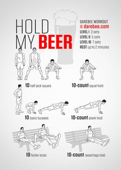 Hold My Beer Workout