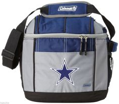 NEW Coleman NFL Football Team Dallas Cowboys 24 Can Soft Sided Cooler Bag  #DallasCowboys
