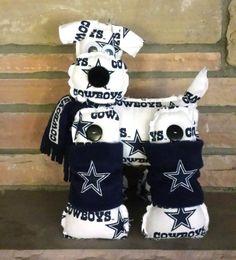 dallas cowboys dogs | Dallas Cowboys Stuffed Dog - NFL Dog White and Blue Cowboys