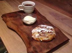 Natural Walnut Dessert Tray  serving tray  by TheGardenCraftsman, $55.00