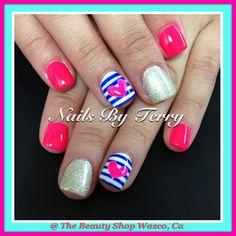 Super cute Gel Nails....LOVE!!!