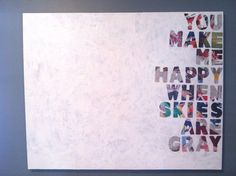 Six2Eleven: DIY: Quotes on Canvas Canvas Crafts, Diy Canvas, Empty Canvas, Canvas Board, Diy Art, Diy Wall Art, Painting Quotes, Diy Painting, Canvas Quotes