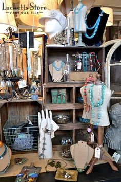 pinterest store display jewelry | The Old Lucketts Store Blog: A new fun jewelry ... | Jewelry Displays