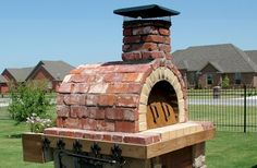 Moon Wood Fired Brick Pizza Oven by BrickWood Ovens