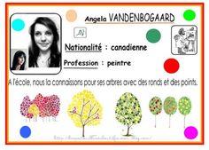 A la manière de Angela VANDENBOGAARD