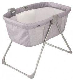 Baby Infant Newborn Bed Crib Loft Portable Bassinet Grey Nursery Cradle Sleep