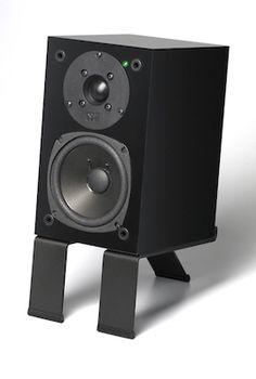 SuperPower - a 90 watt self-amplified speaker. Born June 2012. shown on DeskStand