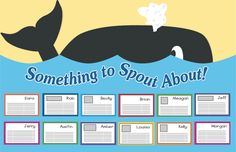"Inspire students to write with these whale-themed writing activities, including a shape book, ""pocket book,"" and science report form! Also includes a whale-themed bulletin board idea for displaying students' work."