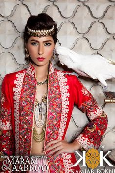 Embroidered Dresses Collection  by Maram and Aabroo 2013-14
