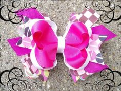 Free Hair Bows Instructions | How to make hair bows instructions pictures 1