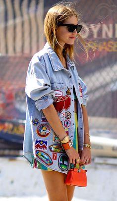 Chiara Ferragni. New York Fashion Week, Spring 2016