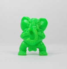 Monster In My Pocket - Series 2 - 62 Ganesha - Neon Lime - Mini Toy Figure