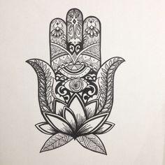 1000 Ideas About Hamsa Art On Pinterest Drawing