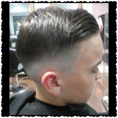 #zero #fade #hair #cut #shape #barber #fresh #tapper #classic #look #layrite #layritesupershine