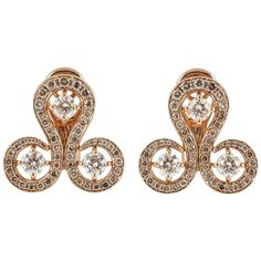 """""""S"""" for sexy, stupendous, superb... earrings: Code by Donald Edge 