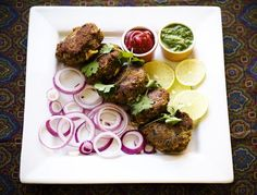Lamb Kabab Recipe (Shammi Kabab): The mixture is elevated with warmth of spices like cinnamon, cardamom and cloves, stuffed with onion and coriander, rolled into thickish patties, dipped in egg and fried in ghee (clarified butter) to create a meal that is exquisite, both on your dish and to your palette.   rasamalaysia.com