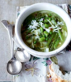 Winter Minestrone Soup with Swiss Chard and Sausage | Sausages, Winter ...