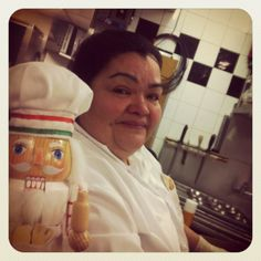 Hard at work, #cookingnutcracker is hanging out with #kitchenmama Sheny today :)