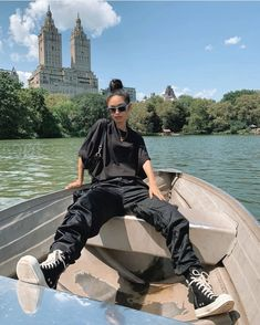 Life is better on a boat. Especially with a good outfit 🚤 knows how to do it. You can shop this look at - We find the brand for you⚡️ . Tomboy Outfits, Tomboy Fashion, Swag Outfits, Dope Outfits, Retro Outfits, Grunge Outfits, Fashion Killa, Girl Outfits, Fashion Outfits