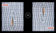 "Diet Magazine  ""Men's Health""  : Flip it !  デブから逆三角形に。  180度、体型を変えよう。"