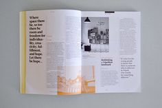 The Outpost 06 on Editorial Design Served