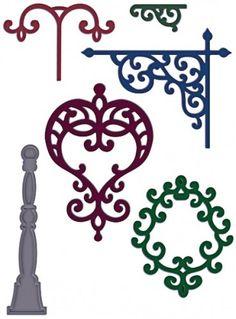 Heartfelt Creations | Decorative Metal Fixtures Die  $29.99