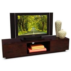 TV Unit: Straight and sophisticated Sumatra TV unit. Give a supreme look to your living room with this sumatra TV unit.