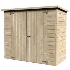 Remise de jardin bois Bike Box 1.88 m² Ep.12 mm