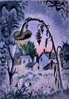 Charles Burchfield  September Afterglow  1949
